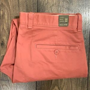 J. Crew Essential Chino Pant770 straight fit 30X30